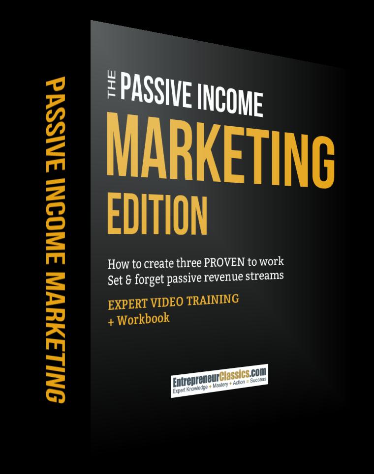 Passive Income Marketing Edition